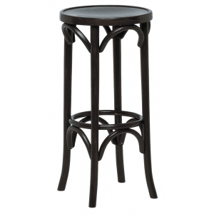 Bentwood High Stool with Veneer Seat