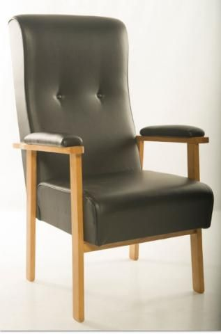 Orthopaedic Armchair with upholstered arms