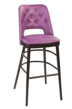 Brunswick High Stool Fully Upholstered