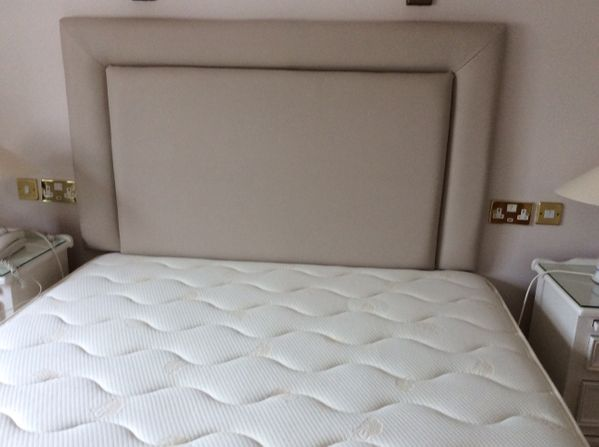 Headboard with edging