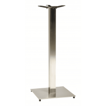 Horizon Square Stainless Steel Dining Table