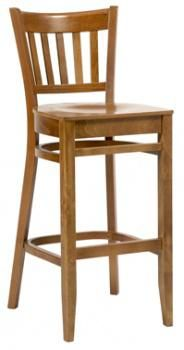 Houston High Stool with polished seat