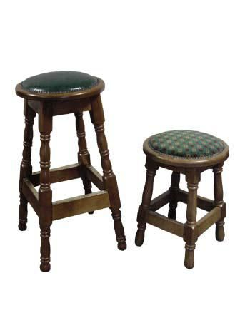High & Low Pin Cushion Stools