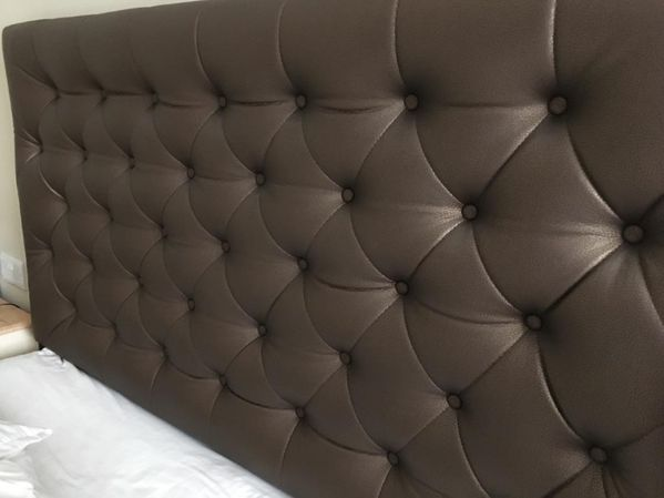Headboard Buttons with Studding Edge