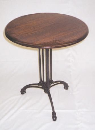 Grafton Cast Iron Table